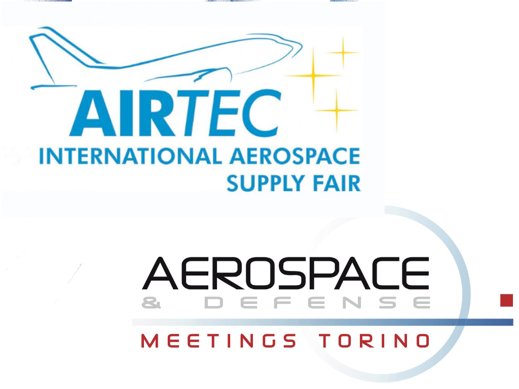 AIRTEC A MONACO E AEROSPACE & DEFENSE MEETINGS A TORINO