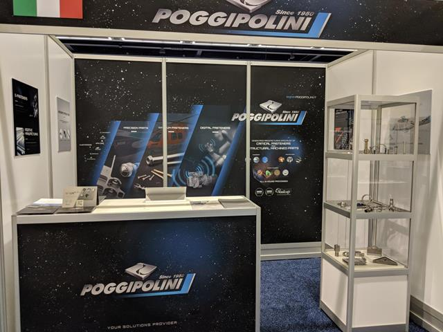 LA DITTA POGGIPOLINI ALLA FIERA AEROSPACE DI SEATTLE